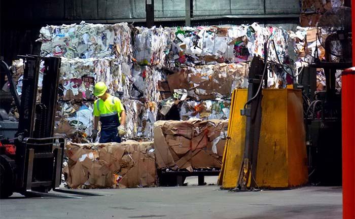 Planta de gestión de residuos municipales