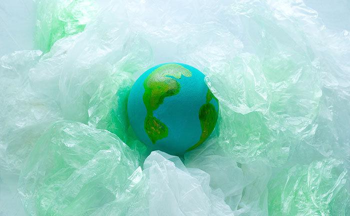 reutilizar plástico para un mundo sostenible
